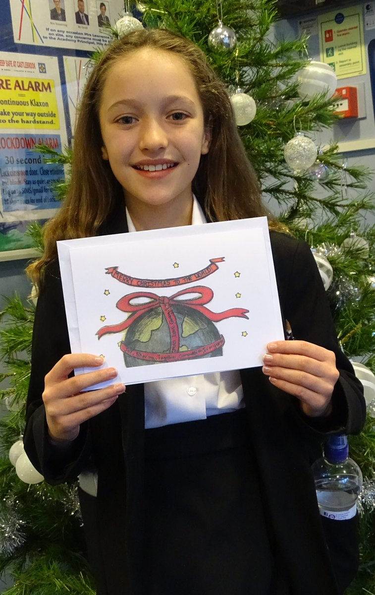 test Twitter Media - Well done to Amy Price whose design was chosen for our Christmas card this year. #castlebrookchristmascard https://t.co/NvJbxdmbu0