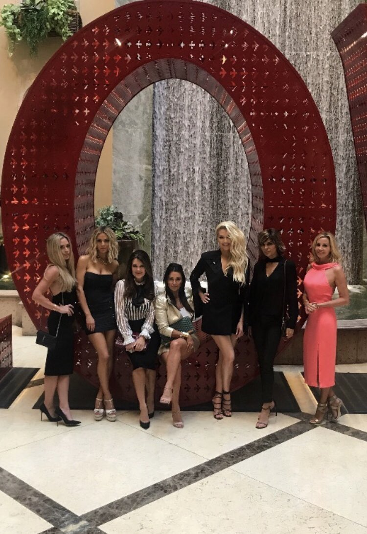 The gang's all here! Are you ready for it? Season 8 of #RHOBH begins tonight at 9pm on @Bravotv ???????? https://t.co/JOEn1CG1QO