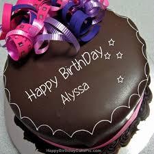 Happy birthday Alyssa , have a great day xx