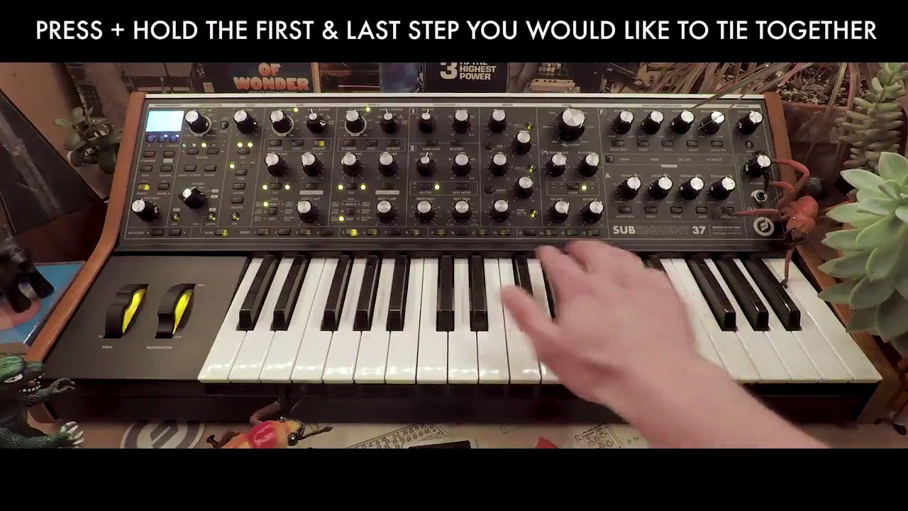 Learn to master the #Subsequent37's on-board step-sequencer in this video from the #MoogDemoLibrary: https://t.co/NSmLsGcXly