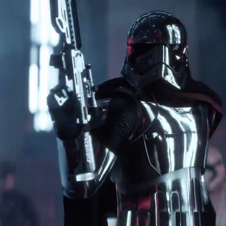 Storm into battle as Captain Phasma, now playable in Star Wars Battlefront II on PS4. https://t.co/kaOkhFbLpP