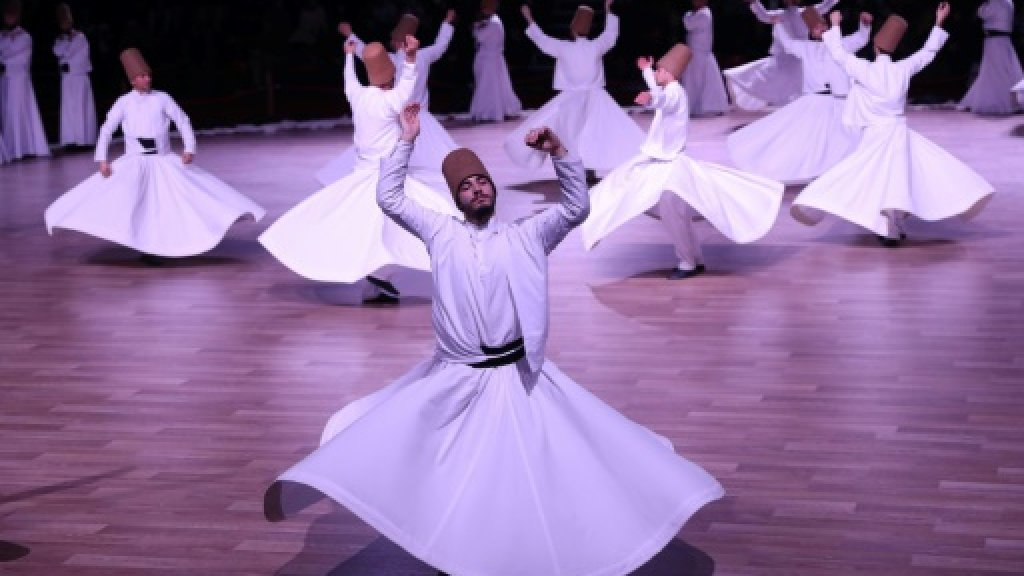 Turkey's dervishes whirl for Rumi anniversary