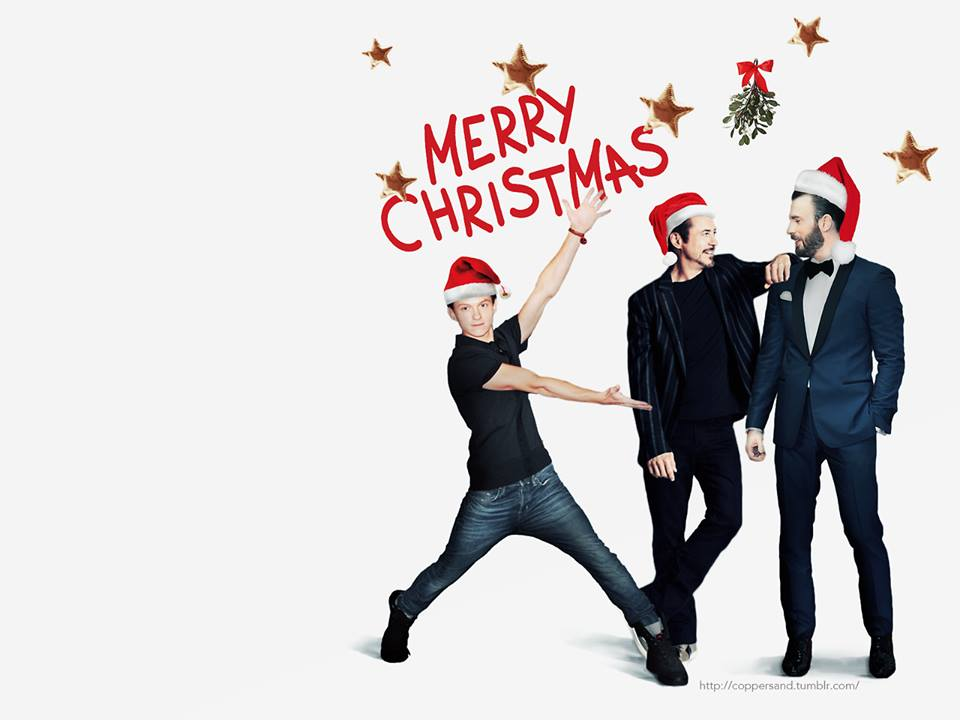 Merry Christmas, everyone! (Who put that mistletoe there??)  (Cred: coppersand of Tumblr) https://t.co/3FMcDC1cRx
