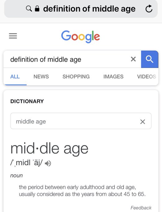 I turned 45 in June and discovered this disturbing little tidbit on Google.  . Happy Birthday!