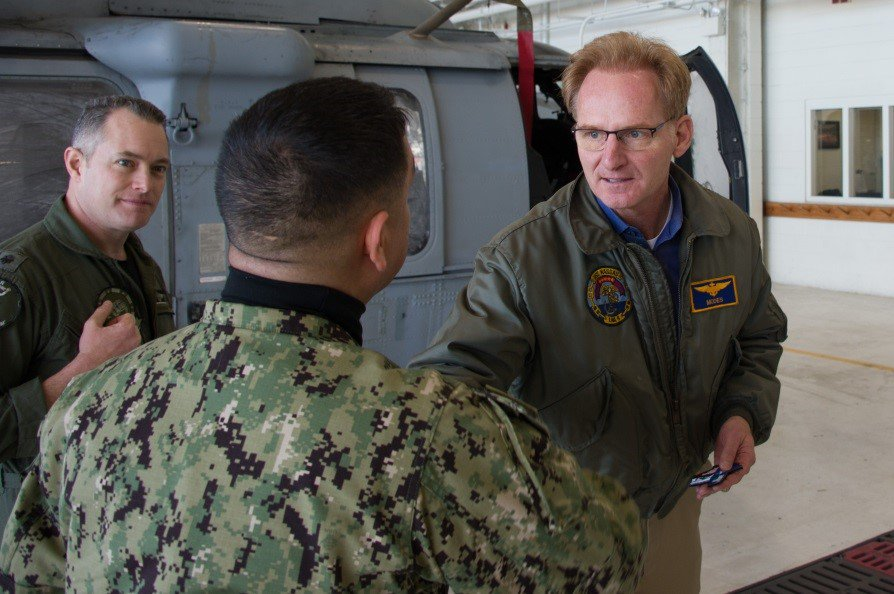 #ICYMI: Newly Appointed Under Secretary of the Navy Visits HSC-7 - https://t.co/CYIdxbMWNM https://t.co/BLdeHXwrLa