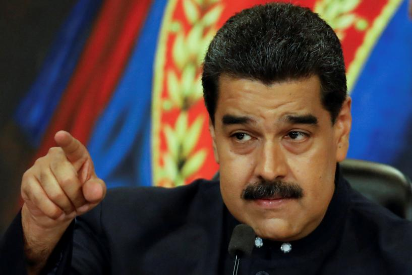 Venezuela's Maduro says 'terrorists' stole weapons from military unit