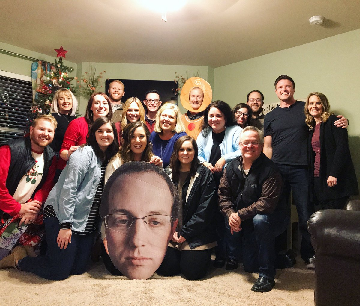 test Twitter Media - FUGE Team Family Christmas Party!! We ate, we laughed, we opened random presents that we found around our homes. It is always a great time with this crew! Huge thank you to our fearless leader for having us all over @bentrueblood! https://t.co/xfrtjgQMIG