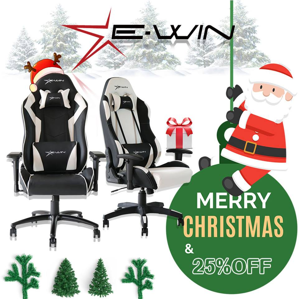 Make sure to go over to @EwinRacing and grab a chair while they have their #Christmas sale! Use code XMAS for 25% off. https://t.co/ZwNeSh3TuF
