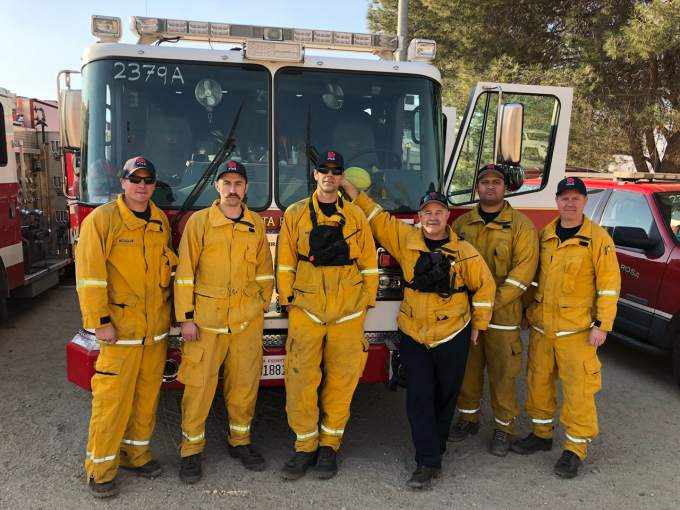 Sonoma County firefighters heading home from Southern California fires