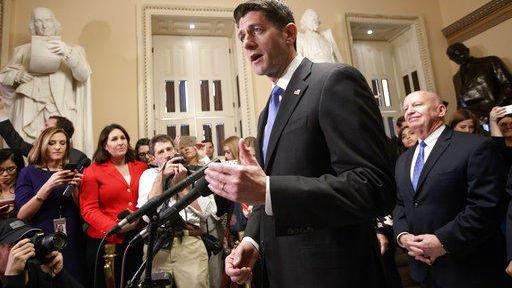 Senate passes GOP tax legislation on narrow party-line vote