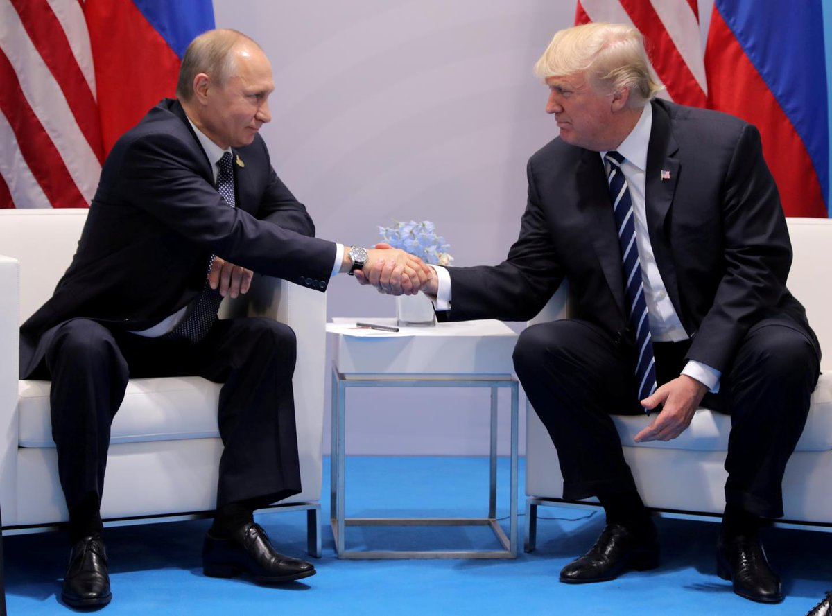 Putin's Kremlin just slammed Donald Trump's national security strategy
