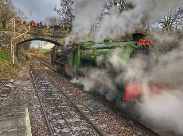 test Twitter Media - RT @VFalkirk: Santa's Polar Express at @bonessrailway  🎅🏻 🚂 📷 v333nat / Instagram https://t.co/clyLH9h9gq