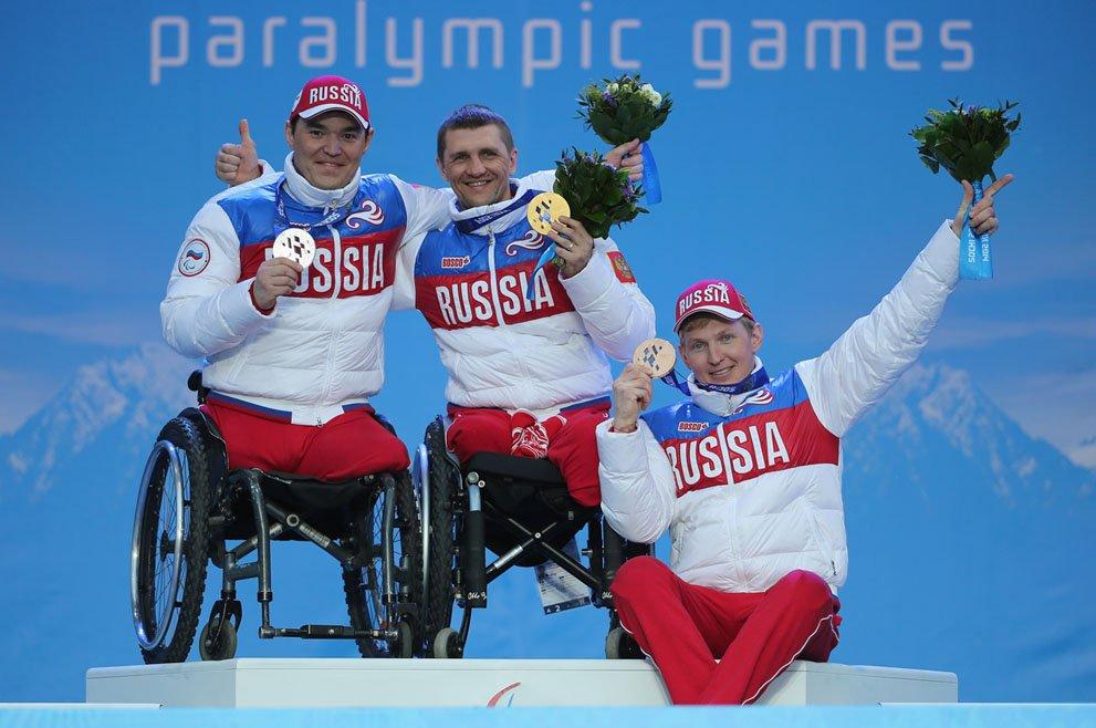 Поздравление нашим параолимпийцам