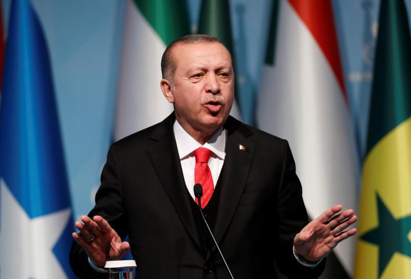 Turkey's Erdogan defends Ottoman commander after UAE minister retweets criticism
