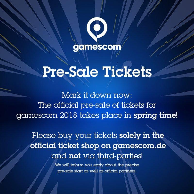 Gamescom 2018 когда будет