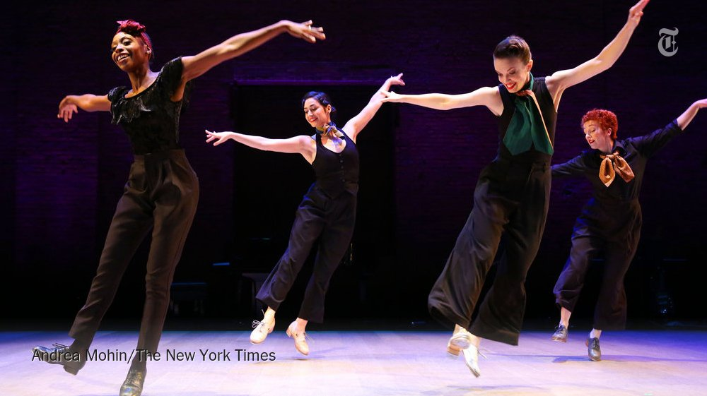 Michelle Dorrance's double bill at the Joyce Theater confirms her command of the tap form https://t.co/7C1m0KtnsS https://t.co/bYz7FNdfO4