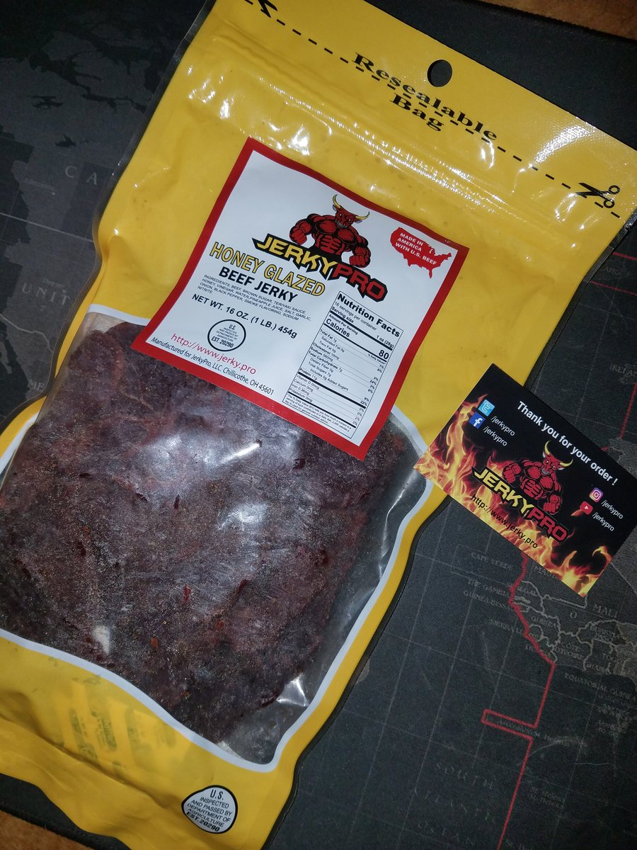 RT @Unhappy_Bowl: This stuffs delicious! Still can't believe I won! Thanks guys! @JerkyPro @EnvisionESP https://t.co/JGFOCv1H99