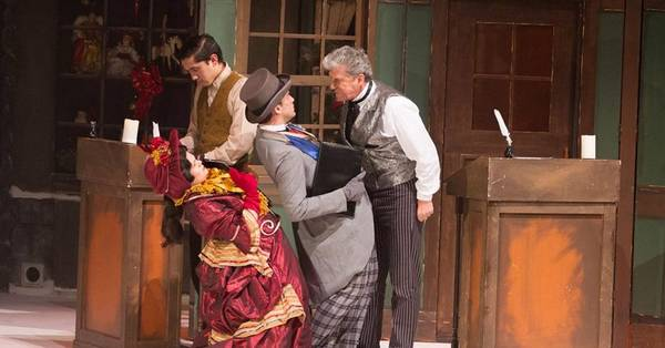 Palace Theatre ready for big finish in 'A Christmas Carol'