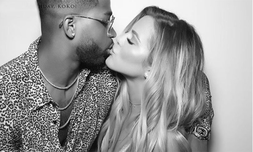 Khloe Kardashian finally reveals she is pregnant with black and white bump picture: