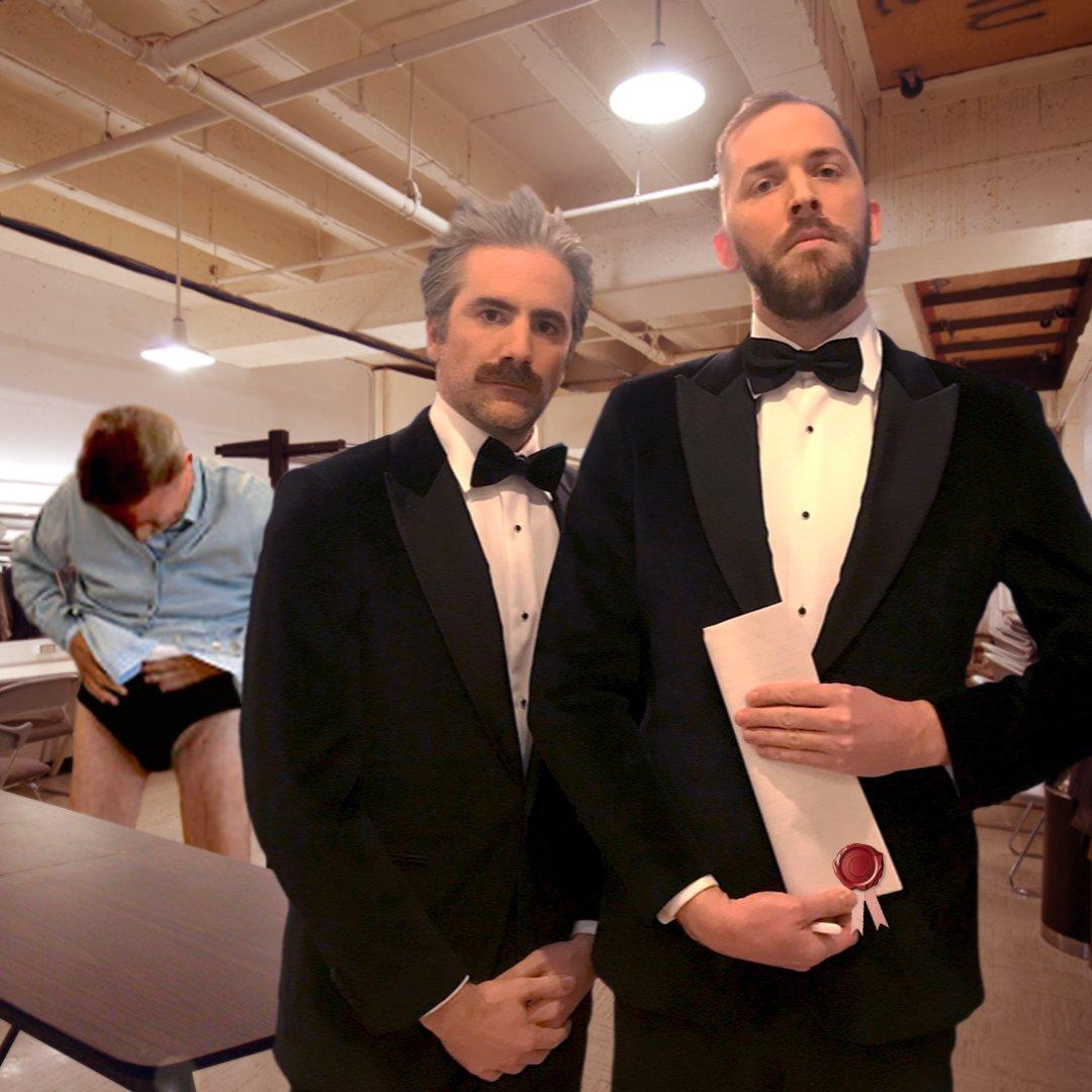 RT @JER00M: Presentator & jury bijna klaar voor de finale. De Slimste Mens ter Wereld, 21u45, @opVIER https://t.co/JmPSzJfeYh