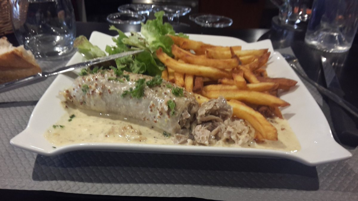My favorite dishes # andouillette&frites cseOb6HSVW