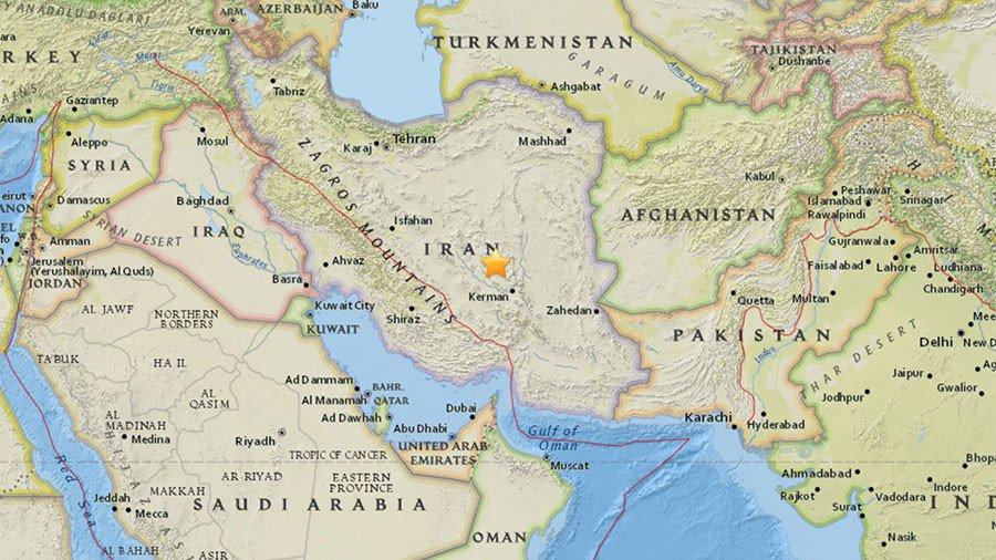 5.2 magnitude earthquake hits southern Iranian province