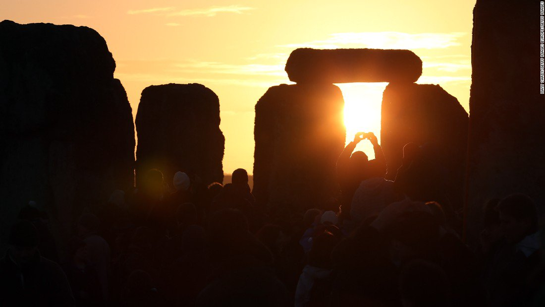 Today is the winter solstice -- the shortest day of 2017 in the Northern Hemisphere