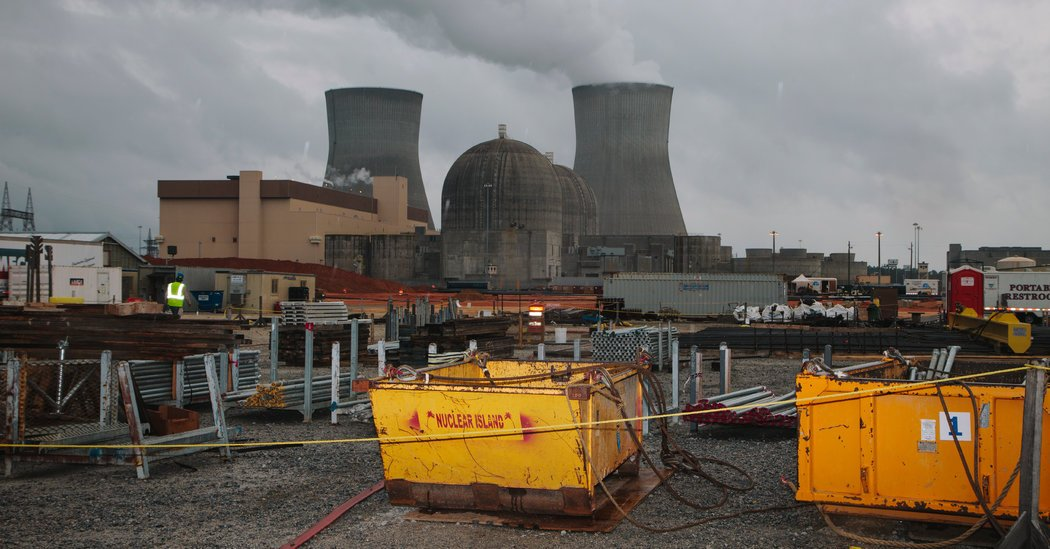 Georgia, Facing 'Difficult Dilemma,' Keeps Nuclear Project Alive