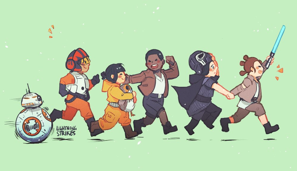 A New Generation #StarWars #TheLastJedi https://t.co/UWLvLg9tJr