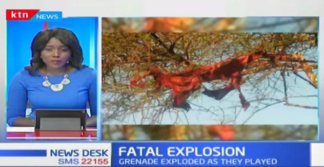 Five children die after unearthing a World War 2 bomb at Banisa-Mandera