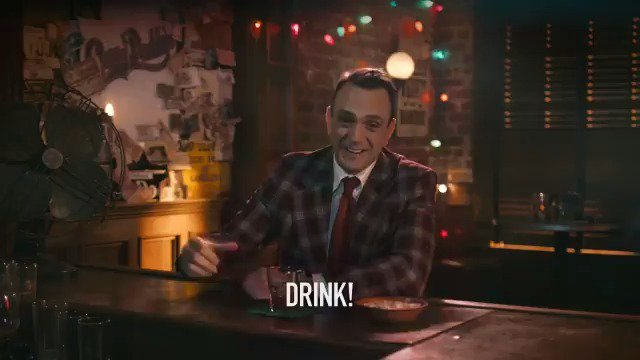 Drink until you forget you're surrounded by your family. Happy Holidays. #Brockmire https://t.co/HwfWkHgnXo