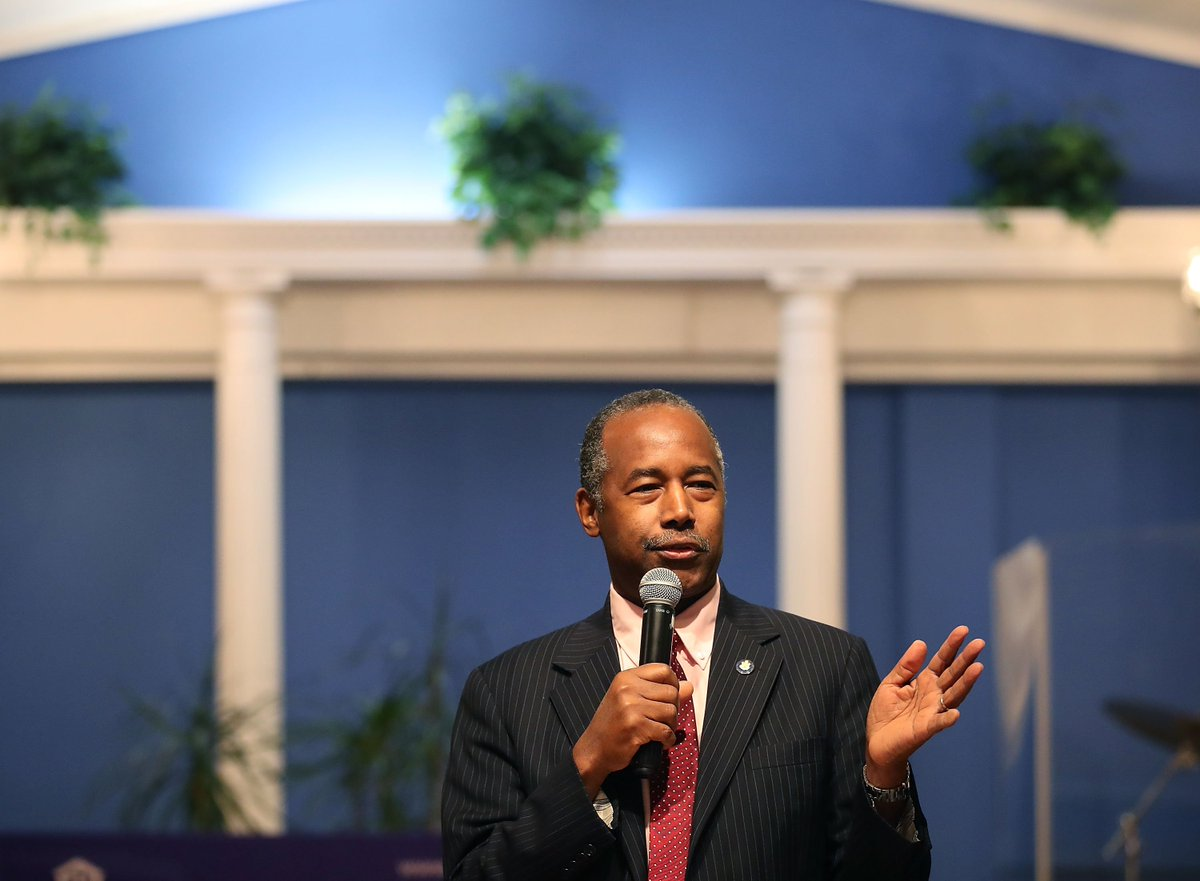 "Ben Carson slams the war on drugs, saying it targets ""minority communities"""