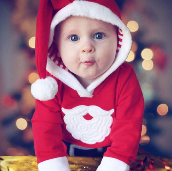 Santa baby. https://t.co/ADyz7PLFvg