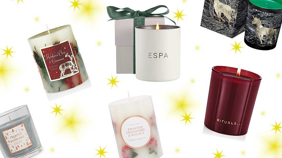 The best scented candles for a last minute Christmas gift