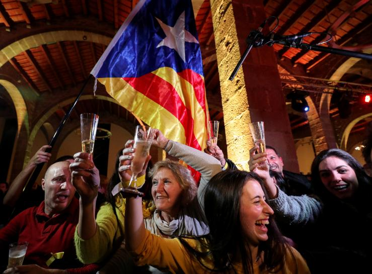 Spain's crisis re-ignited as Catalan separatists win vote