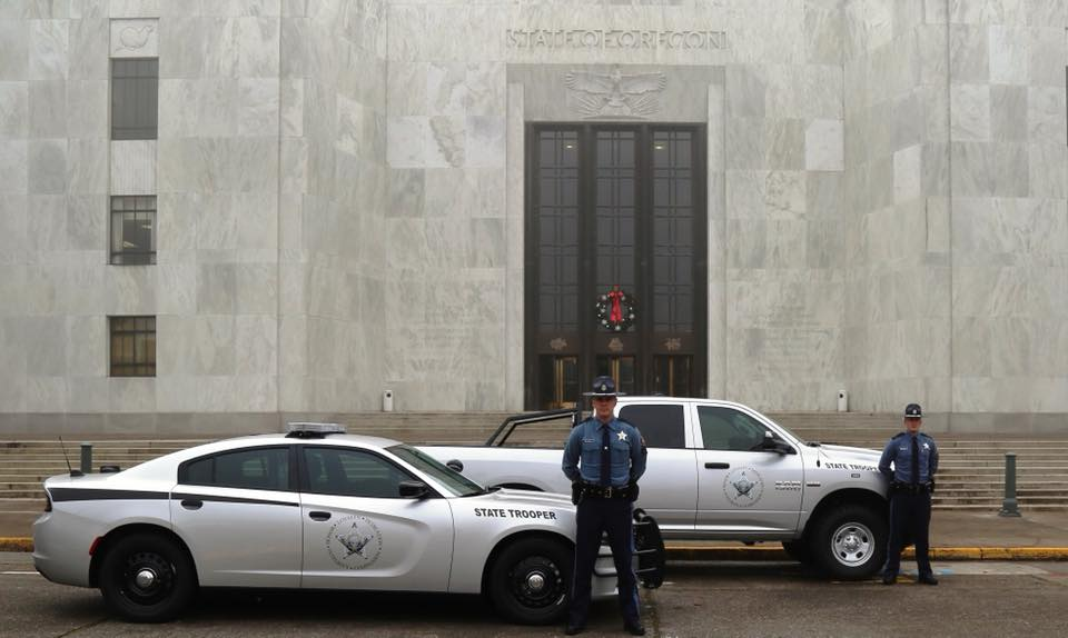 Oregon State Police unveil new patrol vehicles
