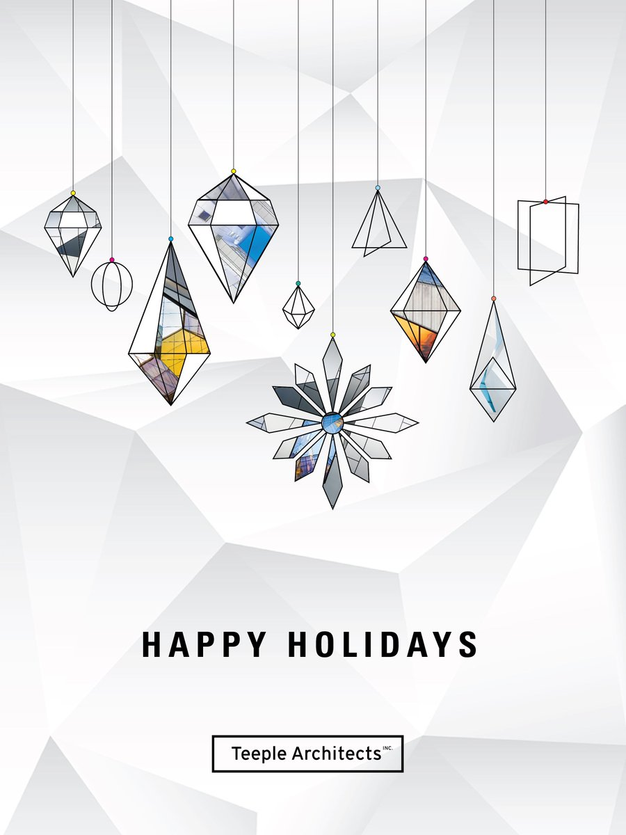 Happy holidays from Teeple Architects! https://t.co/R4rNWoojQk
