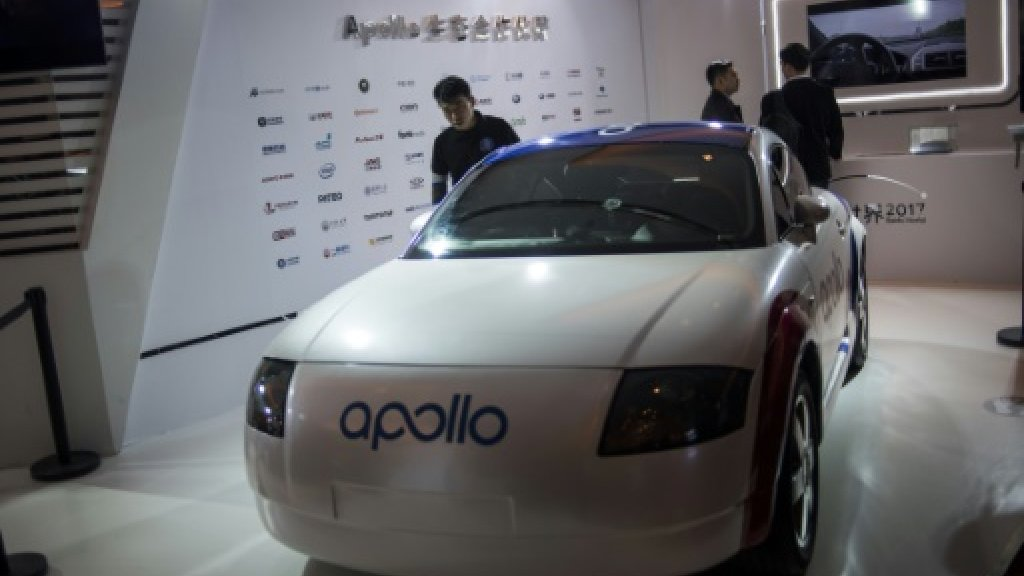 Baidu accuses former exec of stealing self-driving car technology