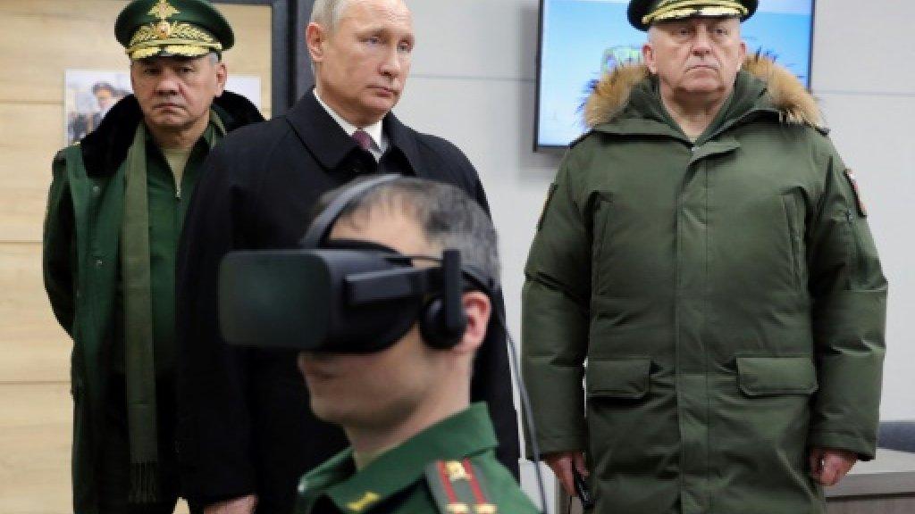 Putin slams 'aggressive' new US defence strategy