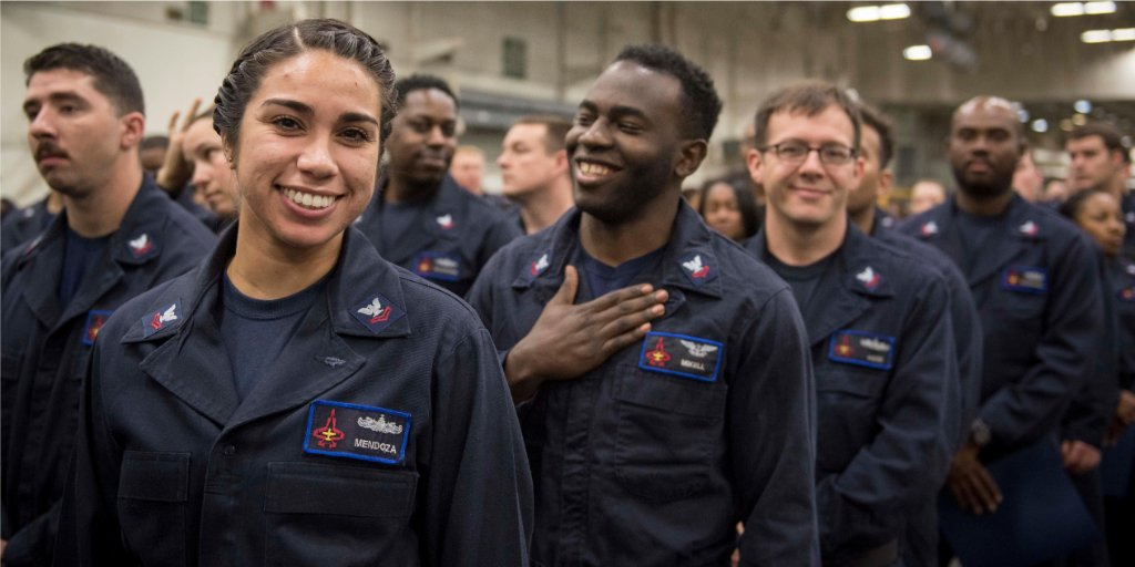 Every #2017Success is accomplished alongside our shipmates in the world's greatest navy! The #USNavy! https://t.co/uQuJS32VBg