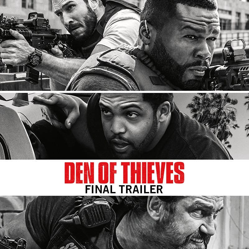 We're coming for you. Here's the brand new #DenOfThieves trailer. #January19 https://t.co/aPrtWblJOL