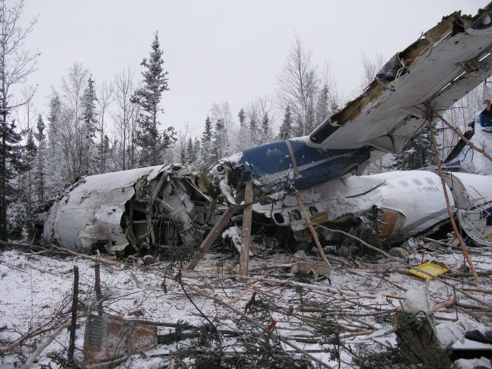Transport Canada grounds airline operating plane that crashed near Fond du Lac