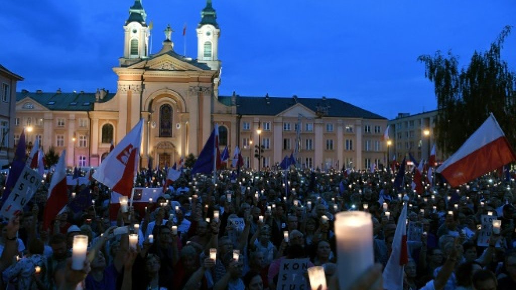 Polish Supreme Court chief says government staging 'coup'