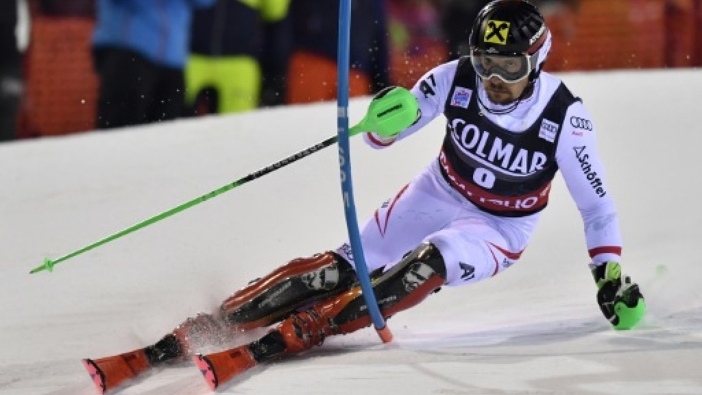 Hirscher wins World Cup slalom at Madonna di Campiglio