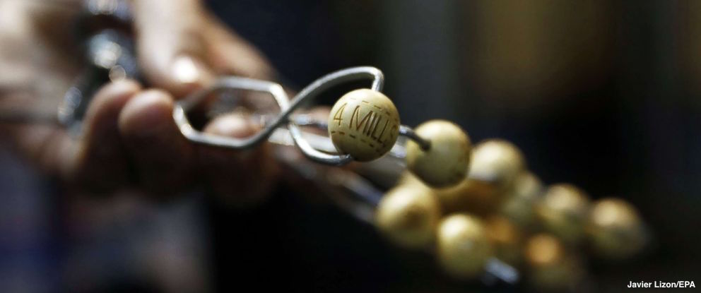 Families playing $2.7B Spanish Christmas Lottery hope to get rich on El Gordo prize.