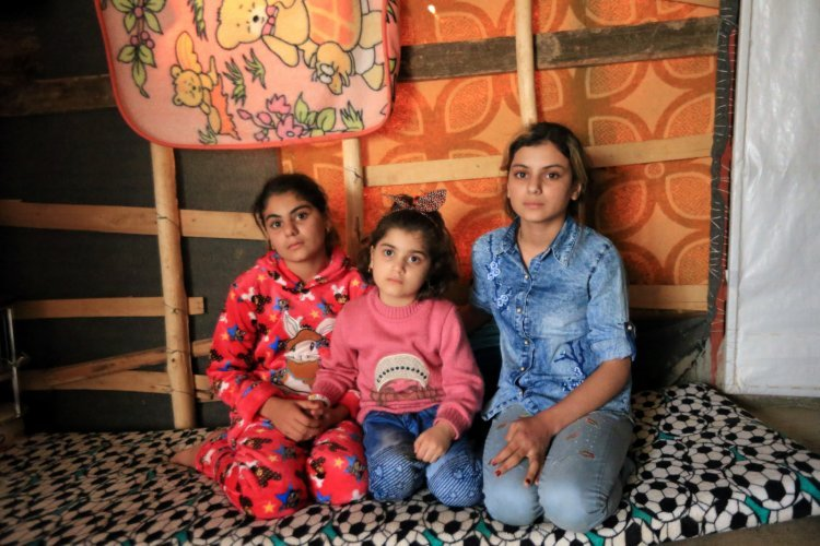 Enslaved by ISIS and sold for £3, three Yazidi sisters have been reunited after years apart