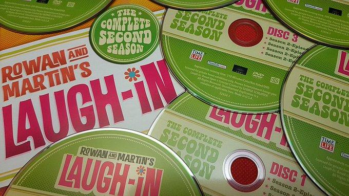 laugh in second season dvd box set rowan and martin
