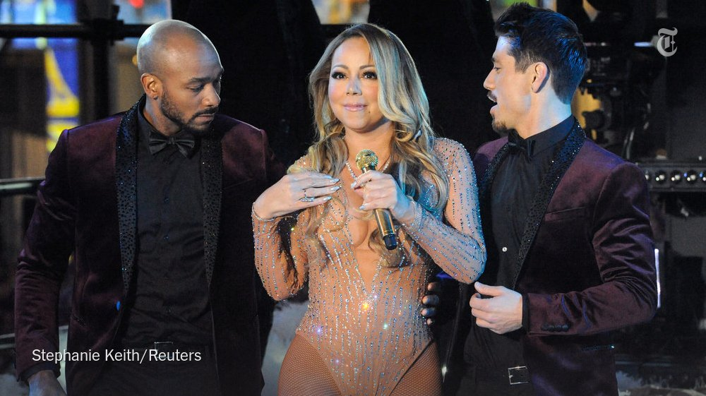 Mariah Carey will return to 'New Year's Rockin' Eve' after last year's meltdown https://t.co/Mza2XH4Deh https://t.co/nFo5jGVpzg