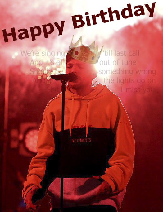 Happy Birthday! Be happy! Try to save you would not be happening.