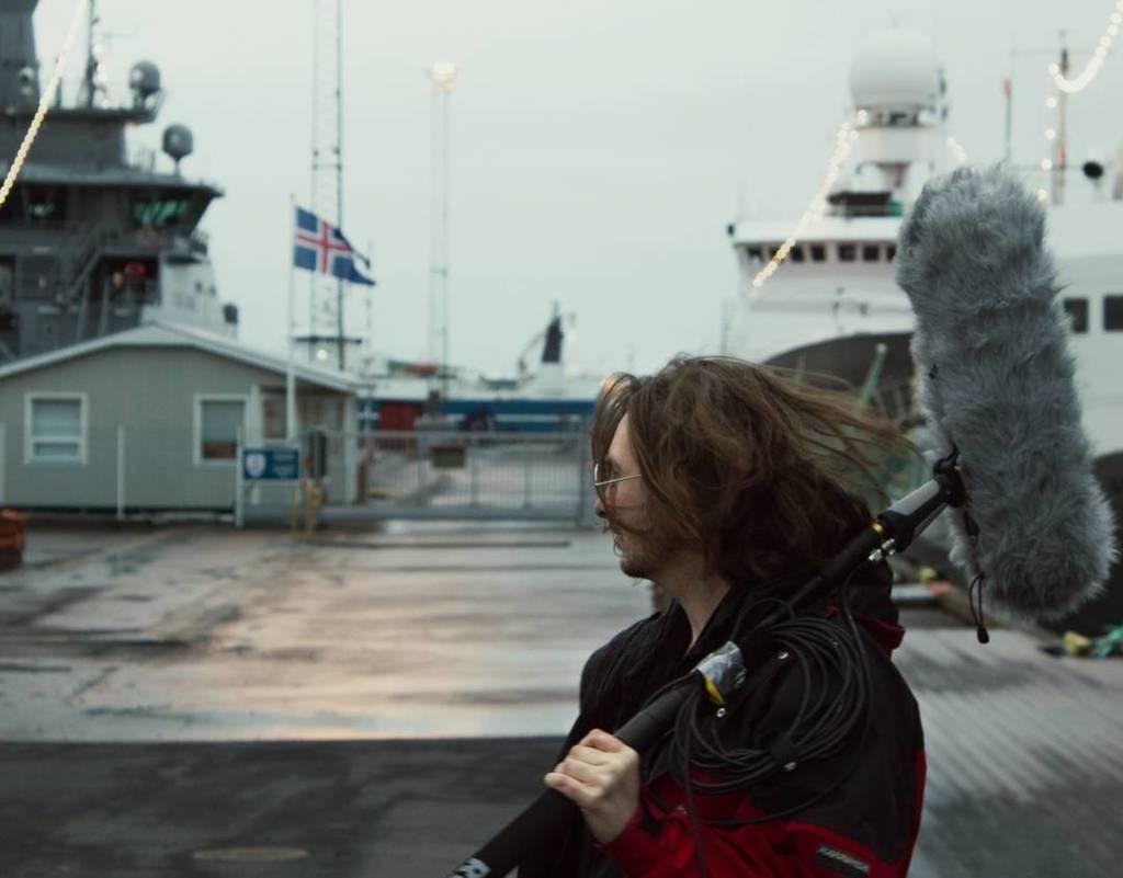 In Reykjavik today shooting down at the docks #thulbard #videoklubben https://t.co/VcQPdGMH6L https://t.co/1loK5Fqhwi